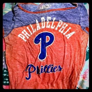 Touch by AM MLB Phillies Burnout Tee